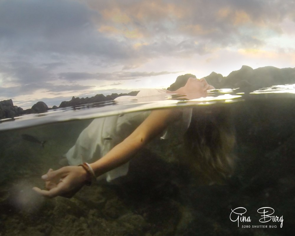 © Gina Burg | 5280 Shutter Bug | Hawaii trash the dress Photographer