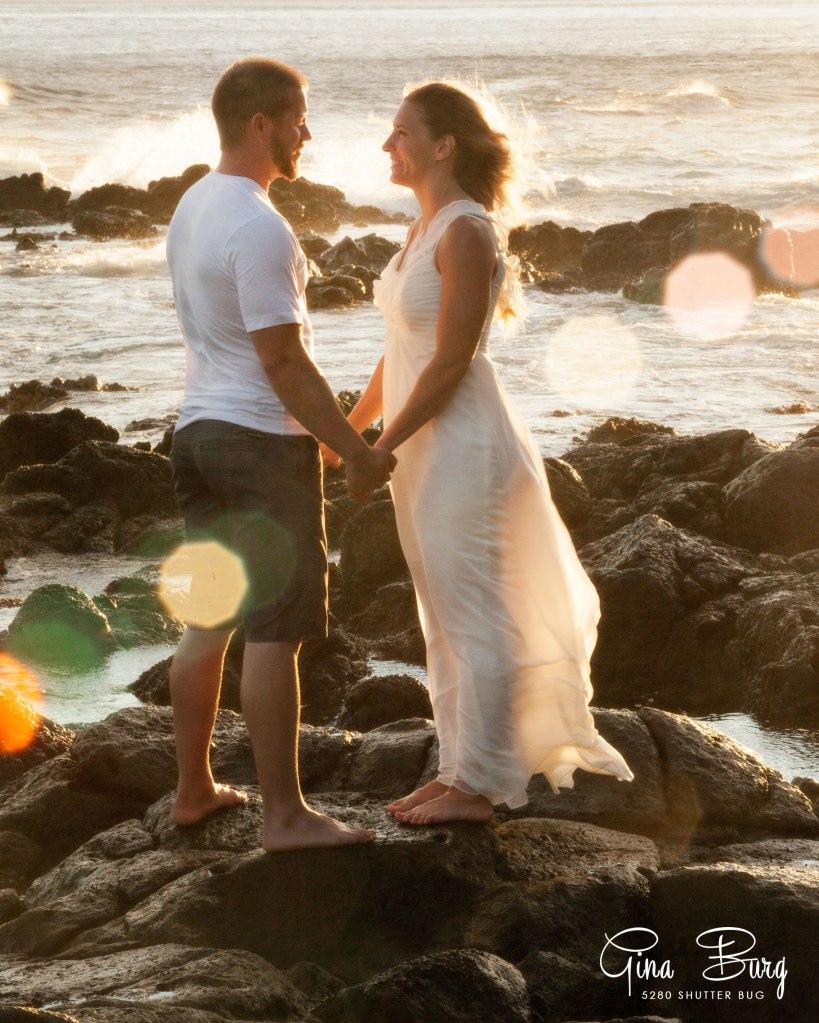© Gina Burg | 5280 Shutter Bug | Hawaii trash the dress Photographer