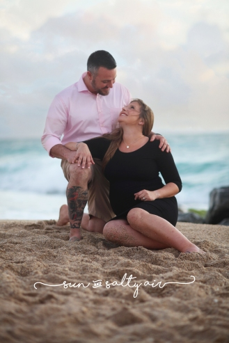 © Sun & Salty Air - Photography by Gina Burg | Boynton Beach Maternity Session